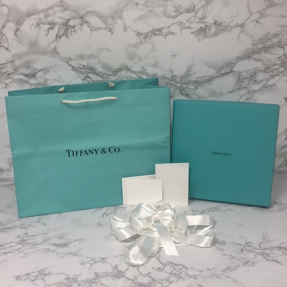 d07105b736d34 BRAND NEW Authentic Tiffany & Co Gift Box + Extras Boutique